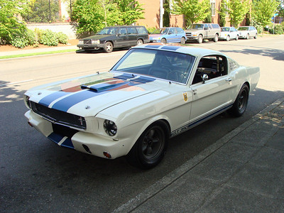 The first GT350 Mustang.